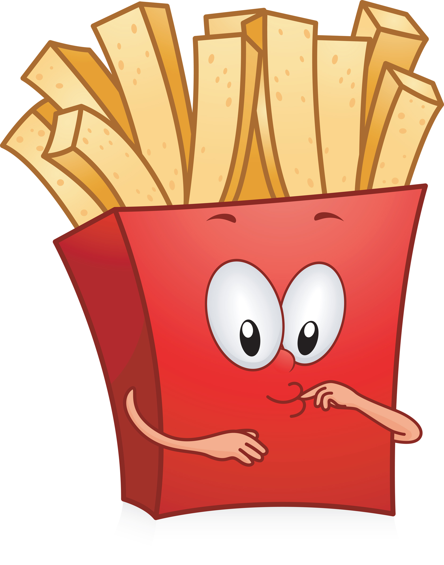 Animated french fries - photo#28